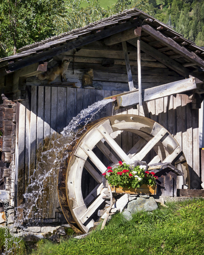 Poster Molens old watermill