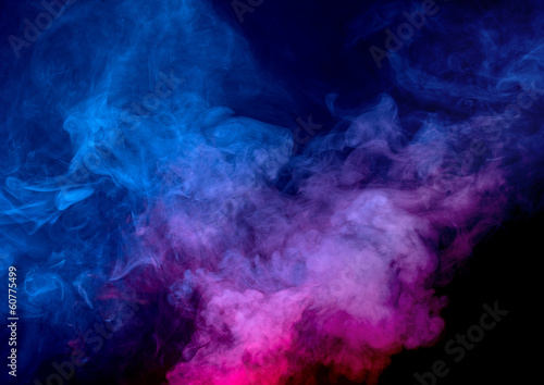 Fotografia Smoke background