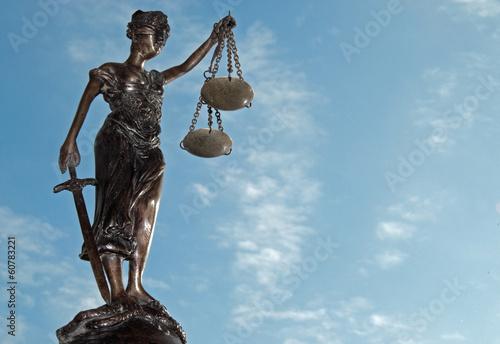 Plakát  Lady Justice - Temida - Themis