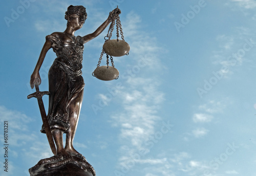 Fotografie, Obraz  Lady Justice - Temida - Themis