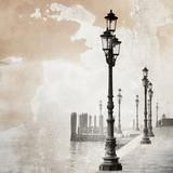 Vintage obraz Wenecji - 60808893