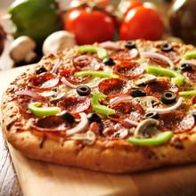Supreme Italian Pizza With Pep...