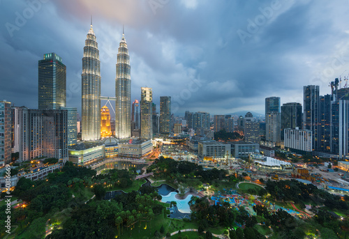Kuala Lumpur, Malaisie Poster