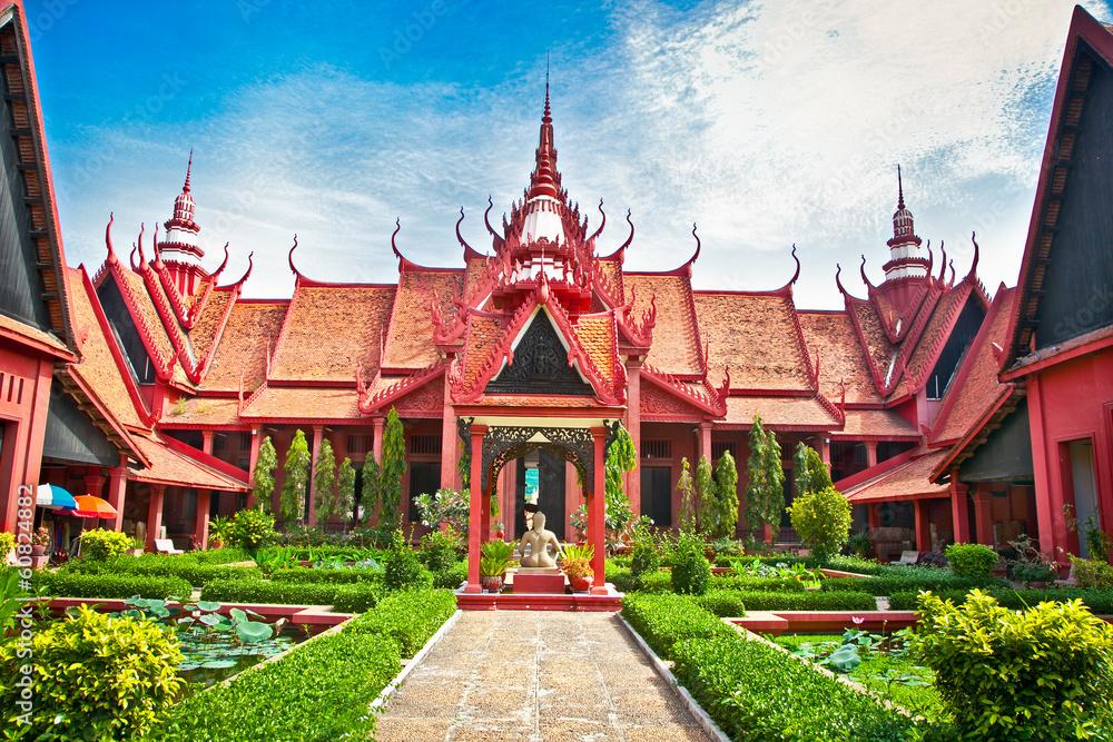 Fototapety, obrazy: National Museum , Phnom Penh, Cambodia.