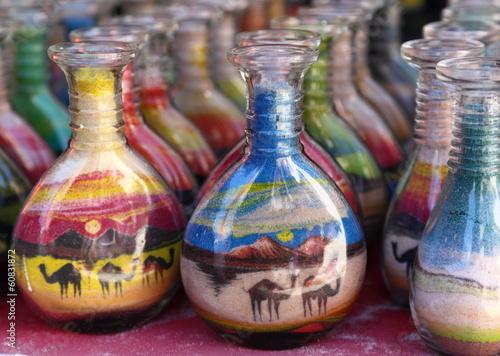 Fotografie, Obraz  Sand Art Souvenirs, Jordan