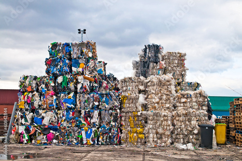Photo  Plastic waste