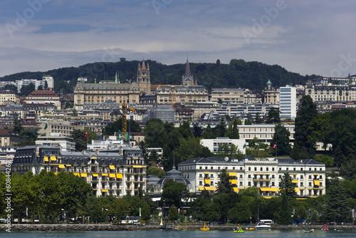 Fotografia Montreux am  Genfer See, Schweiz