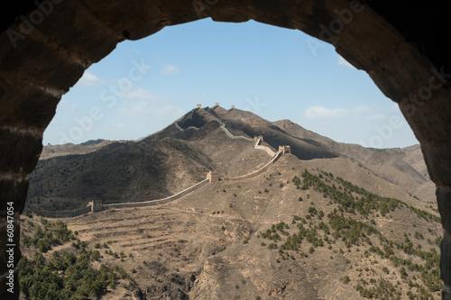 Stampa su Tela Great Wall of China, Simatai