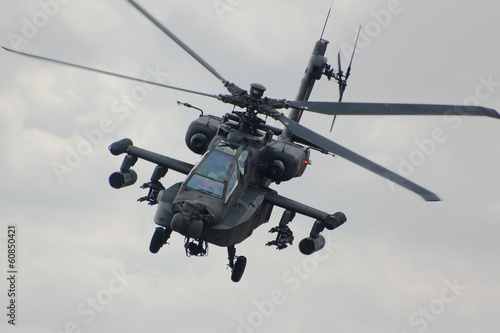 Apache helicopter Wallpaper Mural