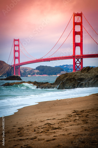 Fotomural  Golden Gate Bridge
