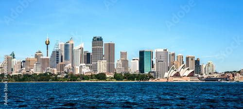 Foto op Canvas Australië Sydney Skyline panorama