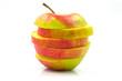 Apple isolated on white backround