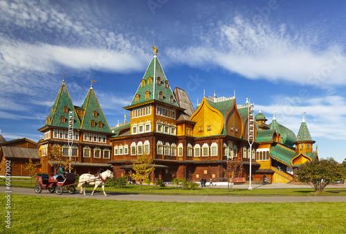 Fotografija Moscow. Kolomenskoye. The Palace of Tsar Alexei Mikhailovich