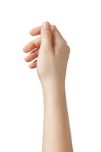 Female Teen Hand To Hold Somet...