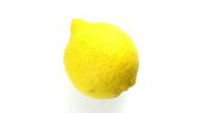 Lemon,  Rotating,  Upper View,...