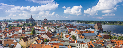 Cuadros en Lienzo Rostock, Germany Panorama