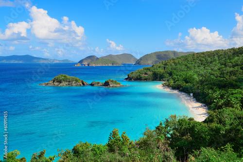 Foto op Plexiglas Caraïben Virgin Islands Beach