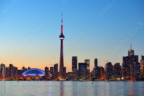 Spoed Foto op Canvas Canada Toronto cityscape