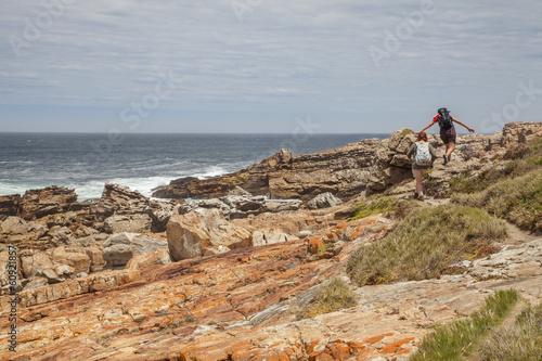 Foto op Plexiglas Zuid Afrika Wandern im Robberg NR, robberg nature reserve, südafrika