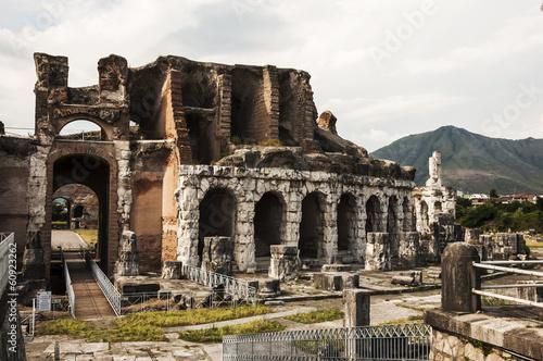 Canvas Print Roman amphitheatre
