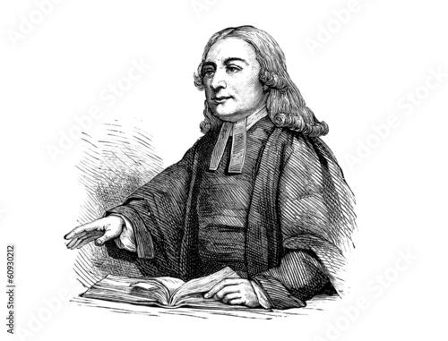 Valokuvatapetti John Wesley