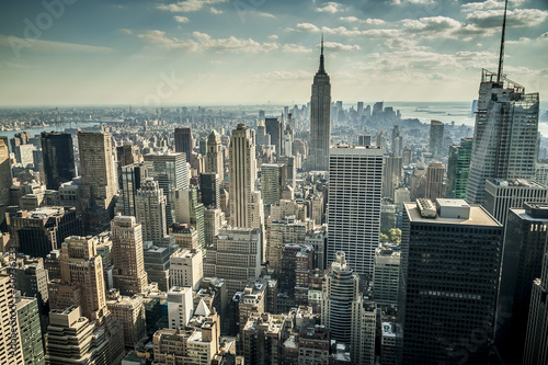 New York City in the USA