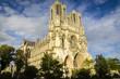 canvas print picture - Kathedrale von Reims, Frankreich