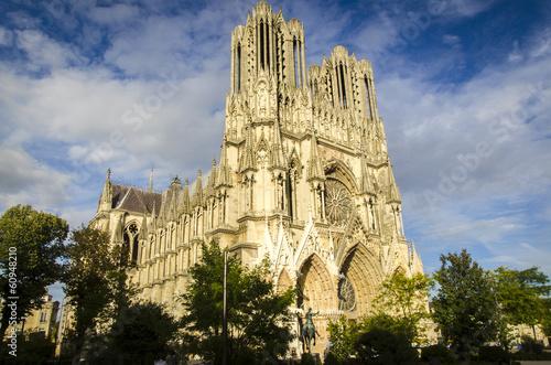 Fotografía  Kathedrale von Reims, Frankreich