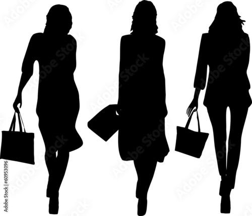 Fototapeta Shopping girls1 obraz