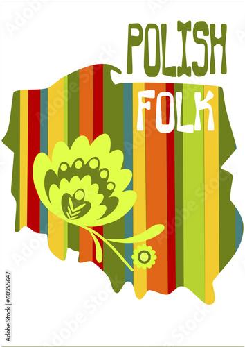 polski-folk-ilustracji-wektorowych