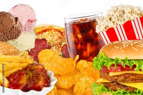 Obraz na plátně  Fast Food