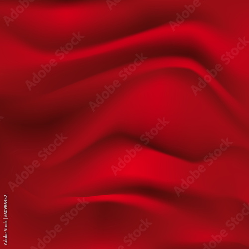 red textile background - 60986452