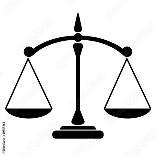 Balance icon Fototapete