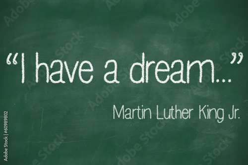 Photo  I have a dream saying
