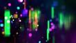 Defocus multicolor background 2