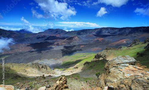 Keuken foto achterwand Nieuw Zeeland Caldera of the Haleakala volcano in Maui island