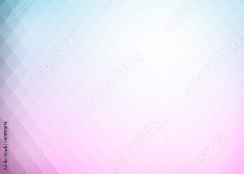 Wall mural - Abstract gradient rhombus background