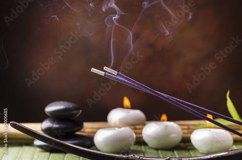 Carta da parati aromaterapia