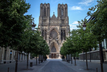 Cathedral Notre Dame In Reims,...