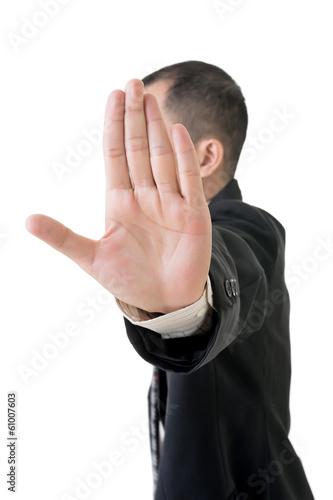 Valokuva  stop gesture