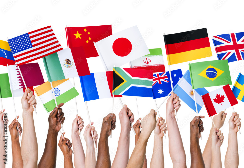 Fototapety, obrazy: National flags