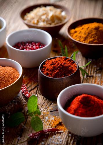 Fototapeta Assorted spices obraz