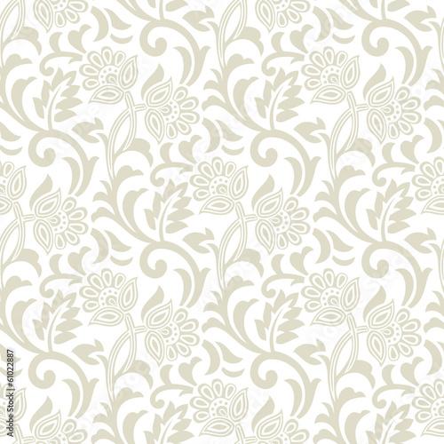 Floral seamless vector design