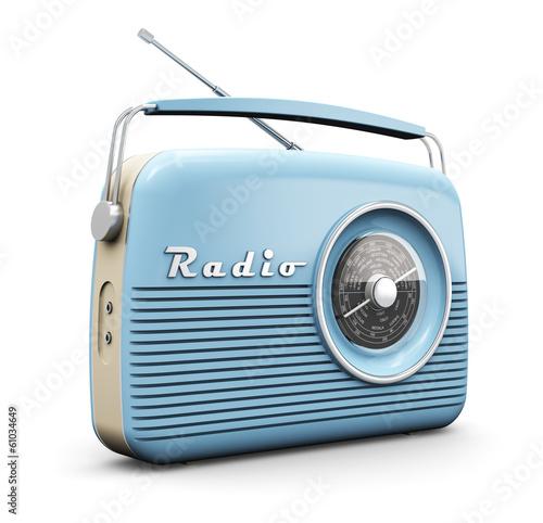Fotomural Vintage radio