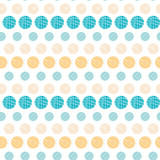 Vector texture circles stripes abstract seamless pattern