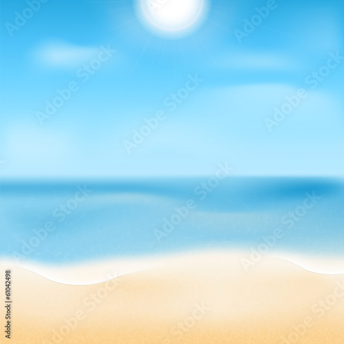 Canvas Prints Countryside sea coast.natural background.waterscape.beach.vector