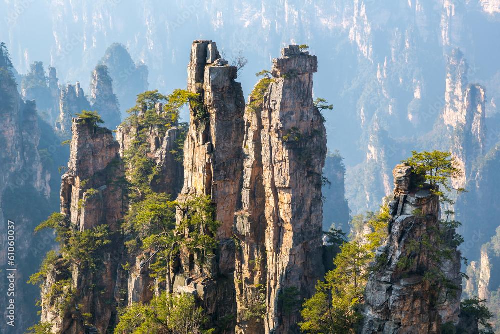Fototapeta Zhangjiajie National forest park China