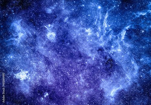 Fototapeta deep space background Elements of this image furnished by NASA obraz na płótnie