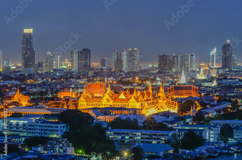 Fotobehang Oceanië Grand Palace in Bangkok