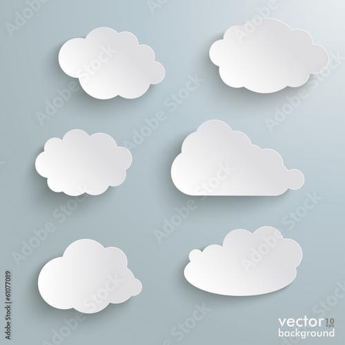 Foto  Clouds Set